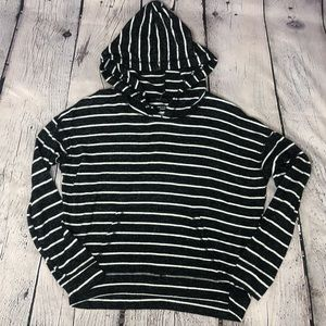 American Eagle Soft and Sexy Plush Hooded Sweater Size Small